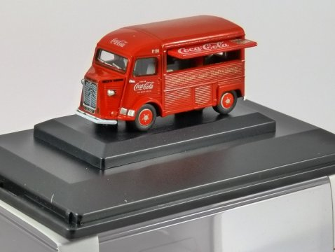 CITROEN H Van - Coca Cola - 1/76 scale model OXFORD DIECAST