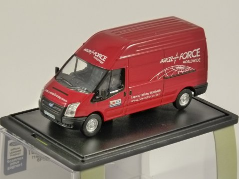 FORD TRANSIT Mk5 LWB Parcelforce 1/76 scale model OXFORD DIECAST