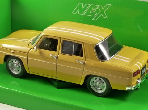 1964 RENAULT 8 GORDINI in Yellow 1/24 scale model by WELLY