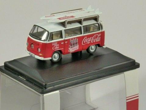VOLKSWAGEN T2 Bus - Coca Cola 1/76 scale model OXFORD DIECAST