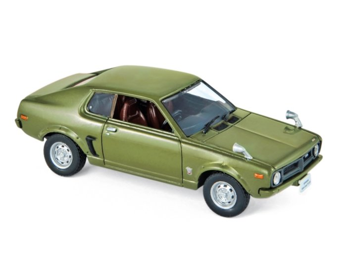 1973 MITSUBISHI GALANT FTO GSR in Green 1/43 scale model by Norev