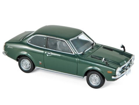 1973 MITSUBISHI LANCER 1600 GSR in Green 1/43 scale model by Norev