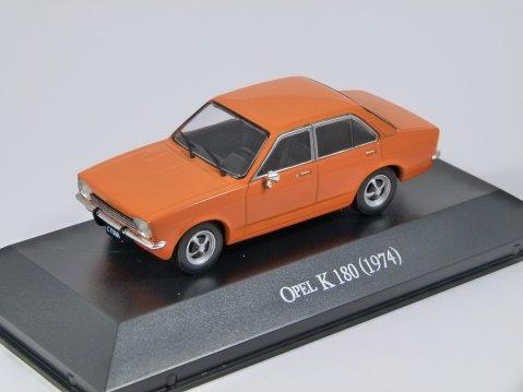 1974 OPEL KADETT C K180 in Orange - 1/43 scale partwork model