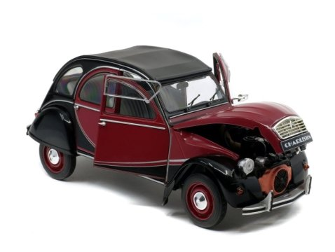 1982 CITROEN 2CV CHARLESTON 1/18 scale model by SOLIDO