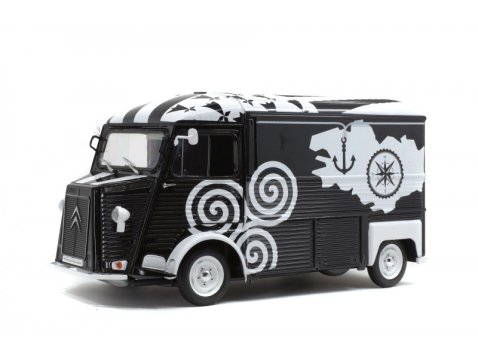 1969 CITROEN HY VAN 'Breizh' 1/18 scale model by SOLIDO