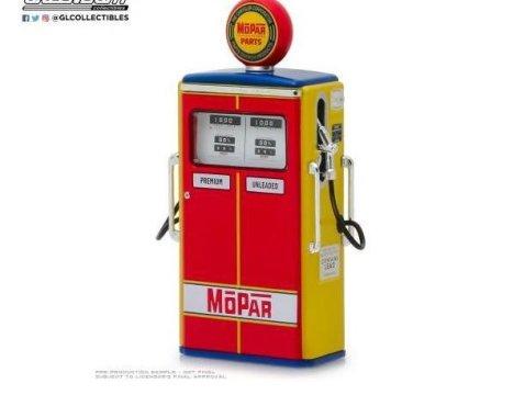 MOPAR PARTS Vintage Gas / Petrol Pump - 1/18 scale model GREENLIGHT