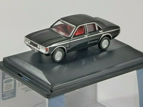 FORD CONSUL GRANADA in Black 1/76 scale model OXFORD DIECAST