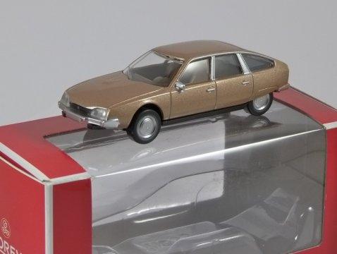 1974 CITROEN CX in Sand Beige Metallic 1/64 scale model by NOREV