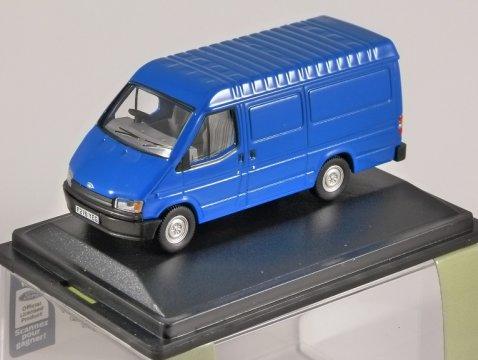 FORD TRANSIT Mk3 Van in Blue - 1/76 scale model OXFORD DIECAST