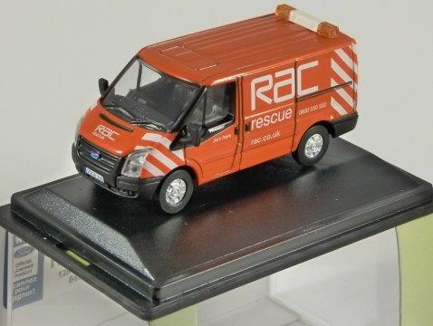 FORD TRANSIT Mk7 Van - RAC - 1/76 scale model OXFORD DIECAST