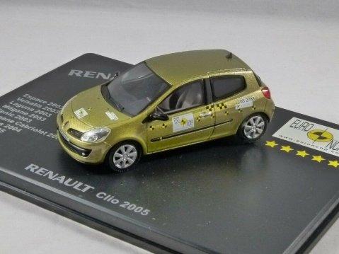 2005 RENAULT CLIO Euro NCAP Crash Test1/43 scale model by Eligor