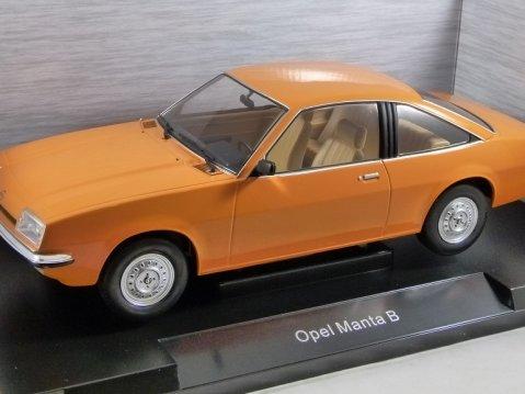 1975 OPEL MANTA B in Orange 1/18 scale model by MCG