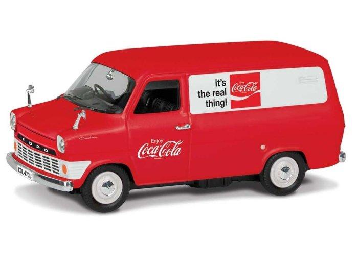 FORD TRANSIT Mk1 Coca Cola 1/43 scale model by CORGI