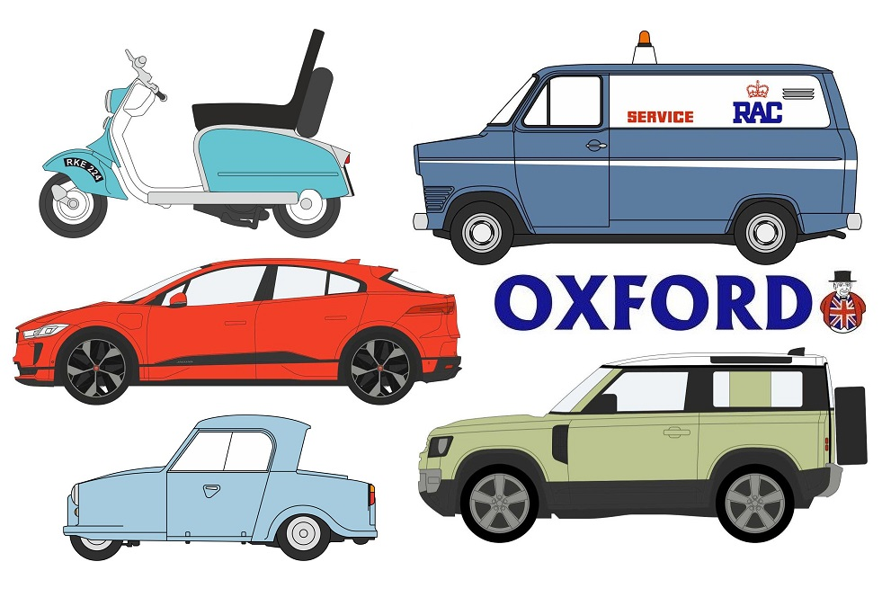 Oxford Diecast - New Announcements 2020