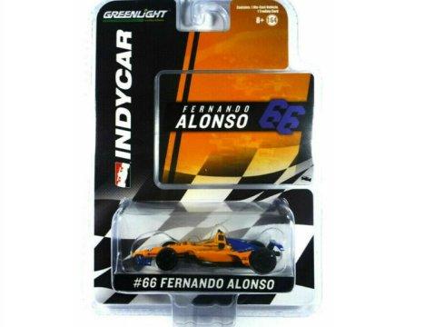 2019 FERNANDO ALONSO McLaren Indycar 1/64 scale model GREENLIGHT