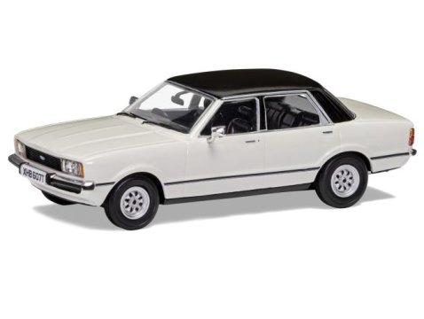 FORD CORTINA Mk4 2.0 GL in White 1/43 scale model by Corgi