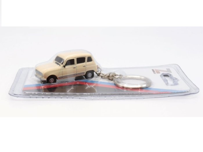 RENAULT 4 GTL keyring / key chain by Z Models