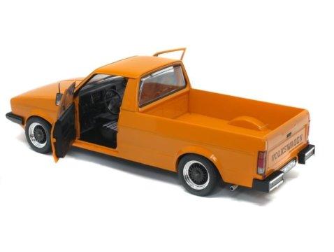 1982 VOLKSWAGEN CADDY Mk1 Custom in Orange 1/18 scale model by Solido