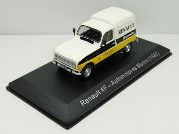 1982 RENAULT 4 F4 Automotores Munro 1/43 scale partwork model
