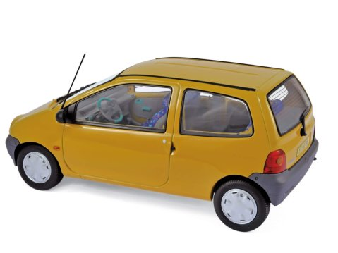1993 RENAULT TWINGO Mk1 in Indian Yellow 1/18 scale model by Norev