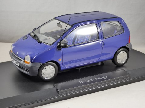 1993 RENAULT TWINGO Mk1 in Blue 1/18 scale model by Norev