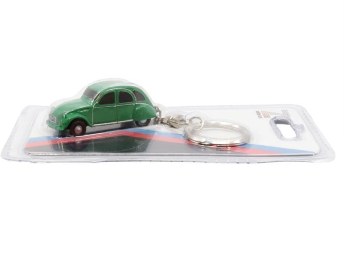 CITROEN 2CV6 in Green keyring / key chain by Z Models