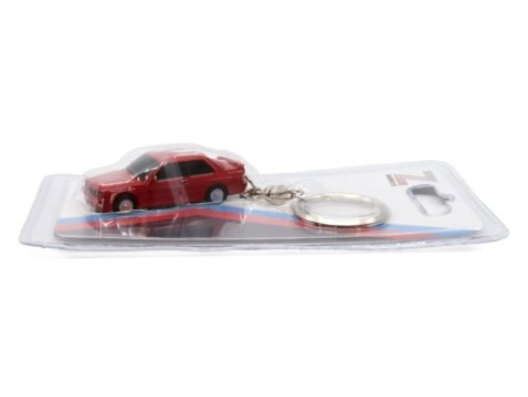 BMW E30 M3 in Red keyring / key chain by Z Models