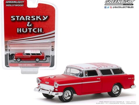 1955 CHEVROLET NOMAD Starsky & Hutch 1/64 scale model GREENLIGHT
