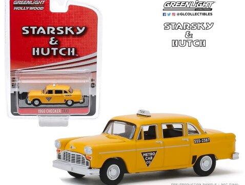 1968 CHECKER TAXI Starsky & Hutch 1/64 scale model GREENLIGHT
