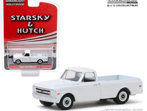 1968 CHEVROLET C-10 PICKUP Starsky & Hutch 1/64 scale model GREENLIGHT