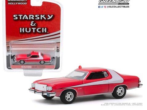 1976 FORD GRAN TORINO Starsky & Hutch 1/64 scale model GREENLIGHT