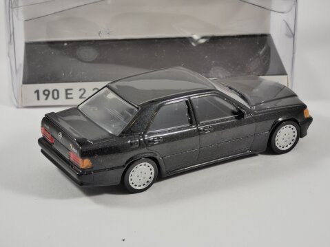 1984 MERCEDES 190 2.3 in Black 1/43 scale model by Norev