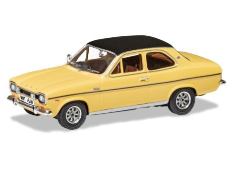 FORD ESCORT Mk1 1300E in Sahara Beige 1/43 scale model by Corgi / Vanguards