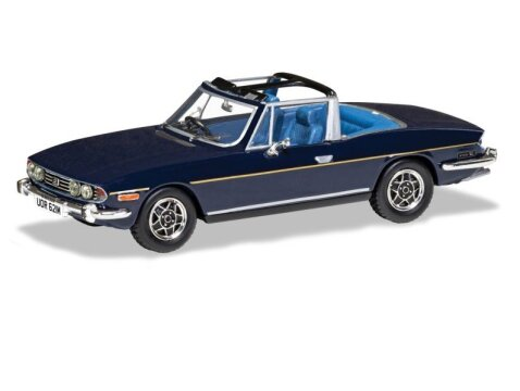 TRIUMPH STAG Mk2 in Sapphire Blue 1/43 scale model by Corgi / Vanguards