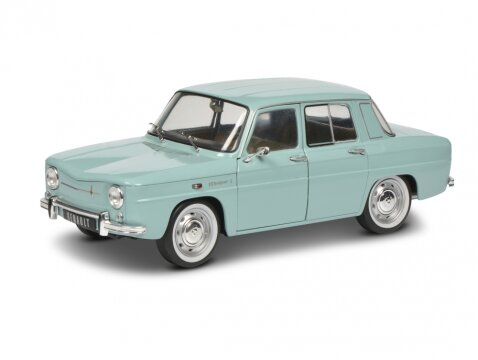 1967 RENAULT 8 MAJOR in Light Blue 1/18 scale model by SOLIDO