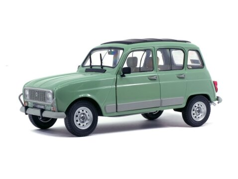 RENAULT 4 GTL in Light Green 1/18 scale model by SOLIDO