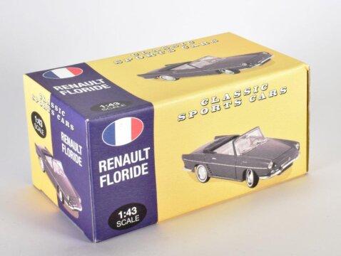 1960 RENAULT FLORIDE in Black - 1/43 scale partwork model Atlas Editions