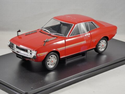 TOYOTA CELICA GT in Red 1/24 scale model by Whitebox