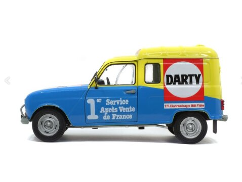 1988 RENAULT 4 F4 Darty - 1/18 scale model by Solido