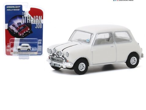 1967 AUSTIN MINI COOPER S 1275 Mk1 in White - 1/64 scale model GREENLIGHT