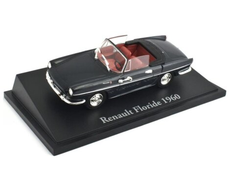 1960 RENAULT FLORIDE in Black - 1/43 scale partwork model Atlas Editions