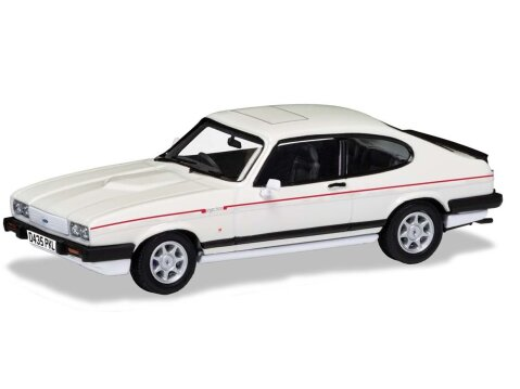 FORD CAPRI Mk3 2.8 INjection in White 1/43 scale model by Corgi / Vanguards