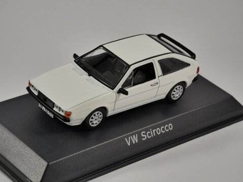 1981 VOLKSWAGEN SCIROCCO GT in White 1/43 scale model by Norev