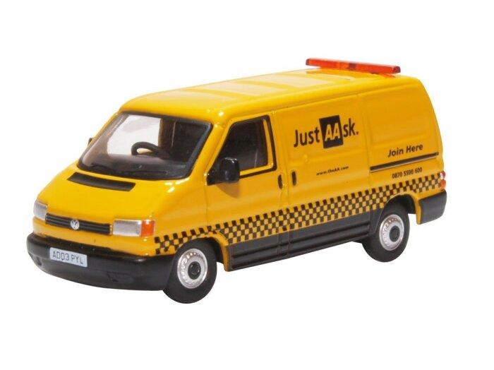 VOLKSWAGEN T4 Van - AA - 1/76 scale model OXFORD DIECAST