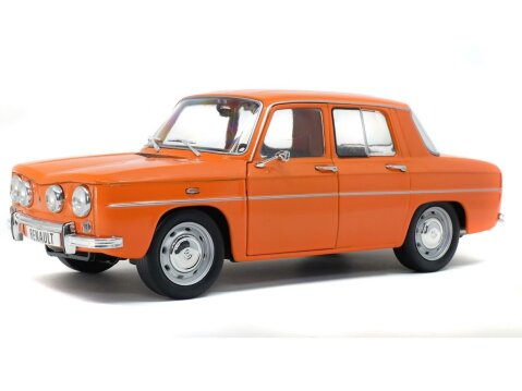 1967 RENAULT 8 TS in Orange 1/18 scale model by SOLIDO