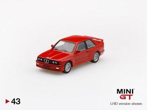 BMW E30 M3 RHD in Red 1/64 scale model by Truescale Miniatures