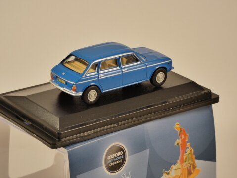 AUSTIN MAXI in Pageant Blue - 1/76 scale model OXFORD DIECAST