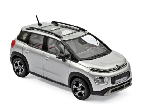 2017 CITROEN C3 AIRCROSS in Cosmic Silver 1/43 scale model by Norev