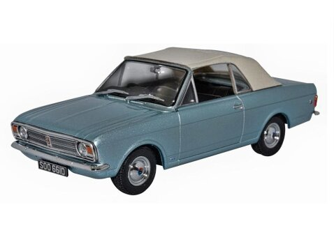 FORD CORTINA MkII Crayford Convertible 1/43 scale diecast model OXFORD DIECAST