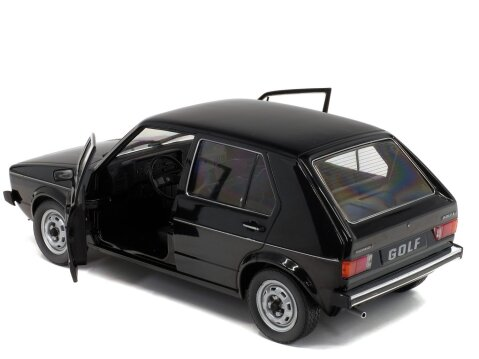 1983 VOLKSWAGEN GOLF L Mk1 in Black 1:18 scale model by Solido